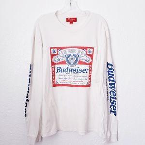 PacSun Budweiser Anheuser Bush Long Sleeve Shirt